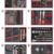 KSTOOLS - Composition d'outils PL 8 tiroirs pour servante, 354 pièces - 714.0330