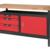 KSTOOLS - Etabli professionnel d'atelier 1 porte et 3 tiroirs, L. 1,4m - 865.0140