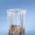 MOTTEZ - Support sac poubelle fixe 100-110 litres - Jaune - B015CNMJA