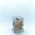 MOTTEZ - Support sac poubelle 240 litres avec roulettes - B016C240