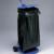 MOTTEZ - Support sac poubelle tôle avec roulettes et couvercle avec poignée de transport - B077C
