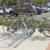 MOTTEZ - Range 20 vélos au sol face à face 400x63x41 cm - B198C