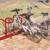 MOTTEZ - Range 4 vélos pour antivol U : roue avant et cadre - B214V