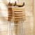 MOTTEZ - Crochet longueur 150mm gainé - Charge 90kg - F100G