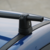 Pack complet 2 barres de toit prémontées en acier Cam Logico 19608 avec point fixe